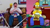 VIDEO: Guy pulls off amazing live version of Simpsons scene