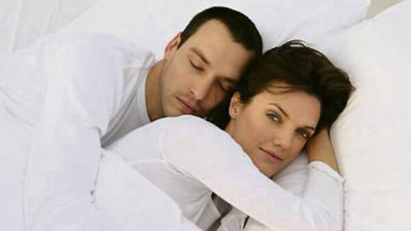What is my husband thinking of during sex?