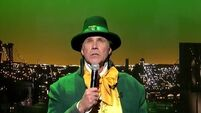 VIDEO: Will Ferrell dressed up as a leprechaun and sang Danny Boy for St Patrick's Day