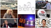 Evening briefing: Gardaí make arrest in Eddie Hutch murder investigation. Catch up on the headlines