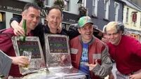 VIDEO: Donegal stag party recreate Back to the Future in Carrick-on-Shannon