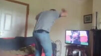 WATCH: Galway-loving dad goes mental at the end of epic hurling semi