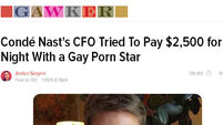 Gawker under fire for 'outing' Conde Nast CFO