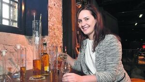 This is the new face of Irish whiskey - and it's a woman