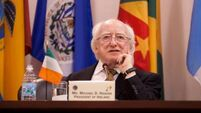 President MIchael D Higgins: Hardiman one of the great legal minds of his generation