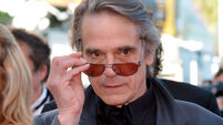 Jeremy Irons has kept busy but is still enjoying himself