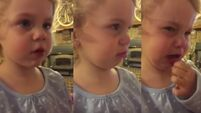 WATCH: We love this two-year-old's reaction to Dad saying she can't have a boyfriend