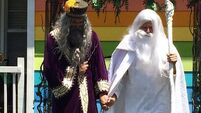 Dumbledore and Gandalf marry opposite Westboro Baptist Church