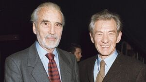 Ian McKellen has paid the most touching tribute to Christopher Lee