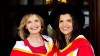VIDEO: Ali Hewson and Adi Roche among UL honorary doctorates