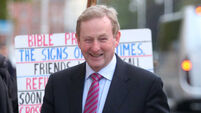 No Áras return for Enda Kenny as government talks continue