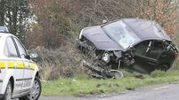 Mum and children escape after car flips three times in Clare accident