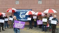 CIT staff stage protest at job interviews