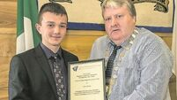Dungarvan teen's Christmas river rescue recognised