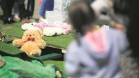 Appeal for parents to come forward as baby found at a recycling plant laid to rest