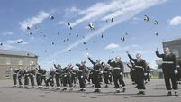 VIDEO: Rise in third-level graduates joining the navy