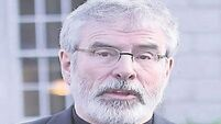 Listen as Gerry Adams lays 'bear' his bedtime musings and dreams about Ryan Tubridy
