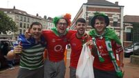 Our man in the van: Fans make most of Lille time before Italy clash