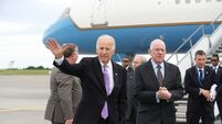 Joe Biden on arrival: I am delighted to be home