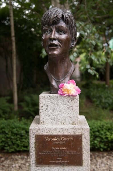A student bursary has been revealed in Veronica Guerin's honour.