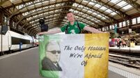 Irish fans in France vote to 'remain in Europe'