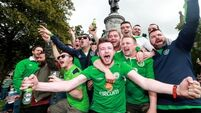 Irish fans return home with a medal from the Euros as Paris mayor sings their praises