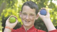 Proud day as handball champ Mikey scoops Traveller Pride Award