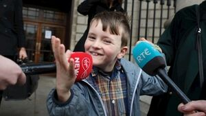 Does this mean I won't have cerebral palsy any more? Iarlaith gets €3.6m interim settlement over birth circumstances