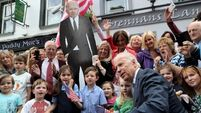 Emotional trip for Joe Biden as he meets Mayo cousins in ancestral home