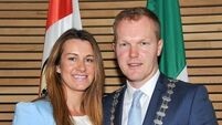 Seamus McGrath assumes office as Cork's county mayor