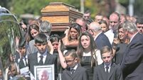 Funeral of Gareth Hutch: 'Seek peace and not disaster'