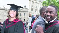 Emer and Andre take the long way round to earn their medical degrees