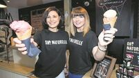 Ice cream makers make the most of start-up stall opportunity in Cork's English Market