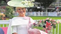 Elegant Claire is apple of RDS' eye as best dressed lady at Horse Show