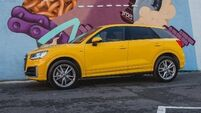 Audi Q2's mellow yellow is ray of sunshine