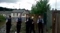 VIDEO: Traveller family vow to stay put after standoff at city site