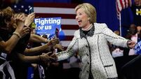 Hillary Clinton on course to clinch the candidacy