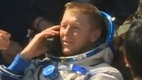 Astronaut Tim Peake 'truly elated' to be back on Earth