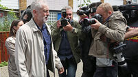 Jeremy Corbyn under pressure amid string of resignations