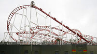10 injured after Scotland rollercoaster derails
