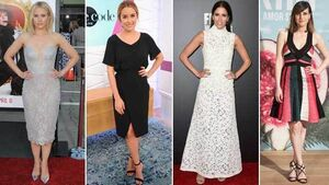 On the red carpet: Kristen Bell, Lauren Conrad, Mercedes Mason, Natalie de Molina