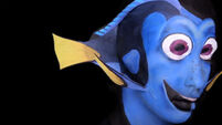Make up artist transforms herself into Dory