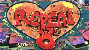 Check out this new Repeal the 8th artwork in Wicklow