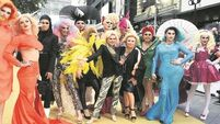 'Absolutely Fabulous' on the red carpet for big-screen debut