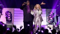 Madonna and Stevie Wonder in Prince tribute in Las Vegas