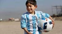 Family of five-year-old Lionel Messi fan flee Afghanistan after threats