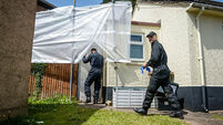 Excavation at paedophile couple's home