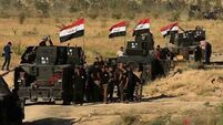 Iraqi forces push into IS-held city