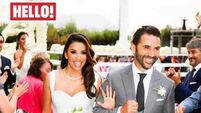 Eva Longoria's wedding dress 'made with love' by Victoria Beckham