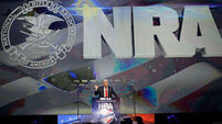 Donald Trump sides with National Rifle Association in US gun debate